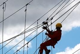 Качественная работа промышленных альпинистов компании «Промальпинизм-Москва» по высотному монтажу