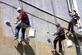 Как грамотно провести ремонт фасада, знают промышленные альпинисты